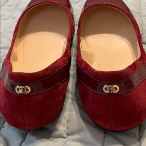Cole HAAN ruby red flats!